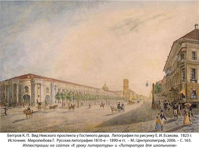 сочинения по литературе н в гоголь невский проспект образ петербурга