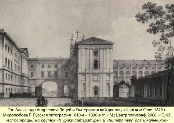 Годы лицея пушкина доклад 6014