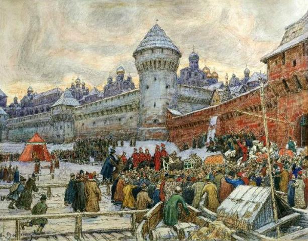 сочинение по картине в васнецова песня купца калашникова